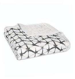 Aden and Anais Aden and Anais Silky Soft Dream Blanket Pebble Shibori