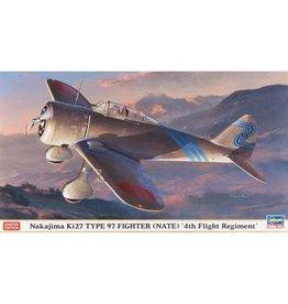 Great Planes Model Distributors Hasegawa 1 48 Nakajima Ki27 Type 97 Fighter 4th Regiment