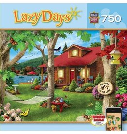 Master Pieces MasterPieces Lazy Days Lakeside Retreat 750 Piece Puzzle