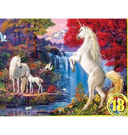 Master Pieces MasterPieces Hidden Images Glow In The Dark Dream World 550 Piece Puzzle