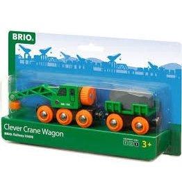 Brio BRIO Clever Crane Wagon