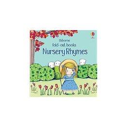 Educational Development Corporation Usborne Fold Out Nursery Rhymes Book