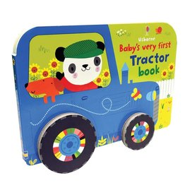 Educational Development Corporation Usborne Babys Very First Rolling Books Tractor Book