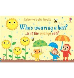Educational Development Corporation Usborne Whos Wearing a Hat Book