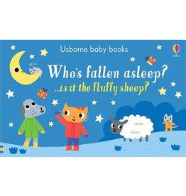 Educational Development Corporation Usborne Whos Fallen Asleep Book