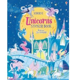 Educational Development Corporation Usborne Unicorns Sticker Book