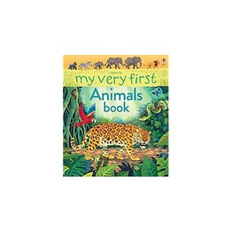 Educational Development Corporation Usborne My Very First Animals Book