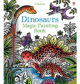 Educational Development Corporation Usborne Dinosaurs Magic Painting Book