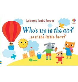 Educational Development Corporation Usborne Whos Up In The Air Book