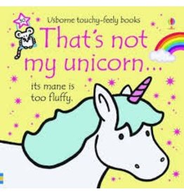 Educational Development Corporation Usborne Thats Not My Unicorn Book