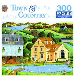 Master Pieces MasterPieces Town and Country White Duck Inn 300 Piece EzGrip Puzzle