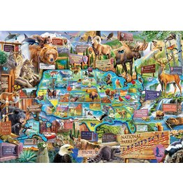 Master Pieces MasterPieces National Parks 1000 Piece Puzzle