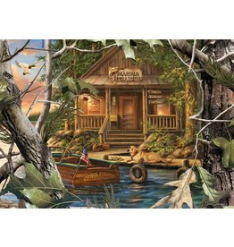 Master Pieces MasterPieces RealTree Gone Fishing 1000 Piece Puzzle