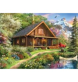 Master Pieces MasterPieces Time Away Mountain Retreat 1000 Piece Puzzle