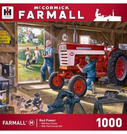 Master Pieces MasterPieces Farmall Case IH Red Power 1000 Piece Puzzle