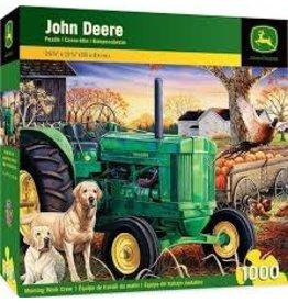 Master Pieces MasterPieces John Deere Morning Work Crew 1000 Piece Puzzle