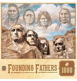 Master Pieces MasterPieces Tribal Spirit Founding Fathers 1000 Piece Puzzle
