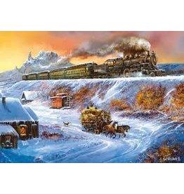 Master Pieces MasterPieces Railways Coyote Special 1000 Piece Puzzle
