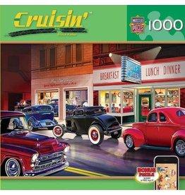 Master Pieces MasterPieces Cruisin Rt 66 Phils Diner 1000 Piece Puzzle