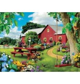 Master Pieces MasterPieces Lazy Days Picnic Paradise 750 Piece Puzzle