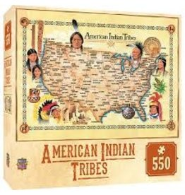 Master Pieces MasterPieces Tribal Spirit American Indian Tribes 550 Piece Puzzle