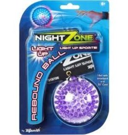 Night Zone NightZone Flashback Rebound Ball Single Colors Vary