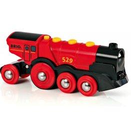 Brio BRIO Mighty Red Action Locomotive