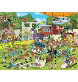 Gamewright Ceaco Brainwright Ceaco Jan Van Hassteren Chaos on the Field 1000 Piece Puzzle
