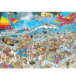 Gamewright Ceaco Brainwright Ceaco Jan Van Hassteren The Beach 1000 Piece Puzzle