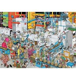 Gamewright Ceaco Brainwright Ceaco Jan Van Haasteren Candy Factory 1000 Piece Puzzle