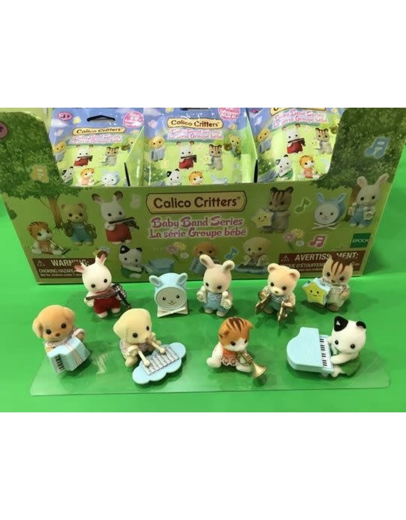 Epoch Everlasting Play Calico Critters Baby Band Blind Bags Single Styles Vary
