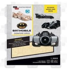 Insight Editions IncrediBuilds Batmobile Signature Series 3D Wood Model and Book