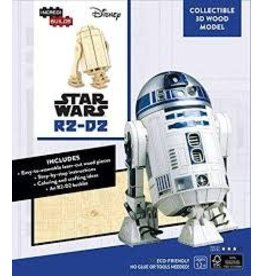 Insight Editions IncrediBuilds Star Wars R2D2 3D Wood Model