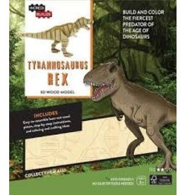 Insight Editions IncrediBuilds Tyrannosaurus Rex 3D Wood Model