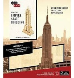 Insight Editions IncrediBuilds New York Empire State Building 3D Wood Model