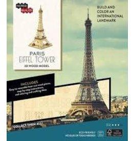 Insight Editions IncrediBuilds Paris Eiffel Tower 3D Wood Model