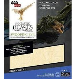 Insight Editions IncrediBuilds Fantastic Beasts and Where to Find Them Swooping Evil 3D Wood Model and Booklet