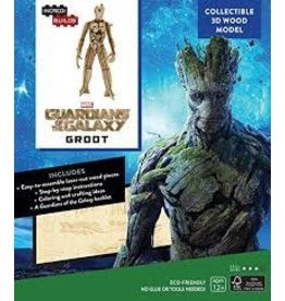 Insight Editions IncrediBuilds Marvel Groot Guardians of the Galaxy 3D Wood Model