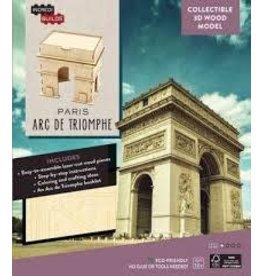 Insight Editions IncrediBuilds Paris Arc de Triomphe 3D Wood Model