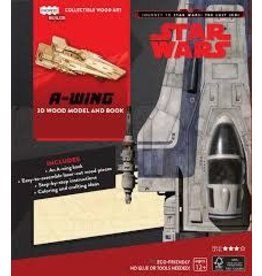 Insight Editions IncrediBuilds Star Wars The Last Jedi A Wing 3D Wood Model and Book