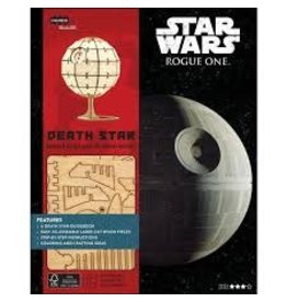 Insight Editions IncrediBuilds Star Wars Rogue One Death Star 3D Wood Model and Book