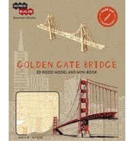 Insight Editions IncrediBuilds Monument Collection Golden Gate Bridge