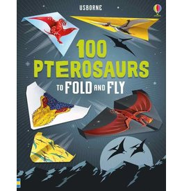 Educational Development Corporation Usborne 100 Pterosaurs to Fold and Fly