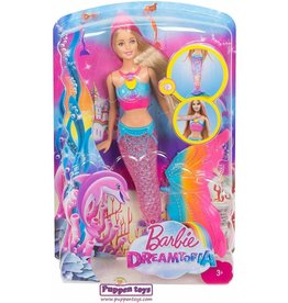 Mattel Barbie Dreamtopia Rainbow Lights Mermaid