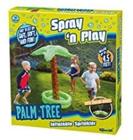Toysmith Spray N Play Palm Tree Sprinkler