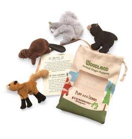 Folkmanis Puppets Folkmanis Woodland Animal Set