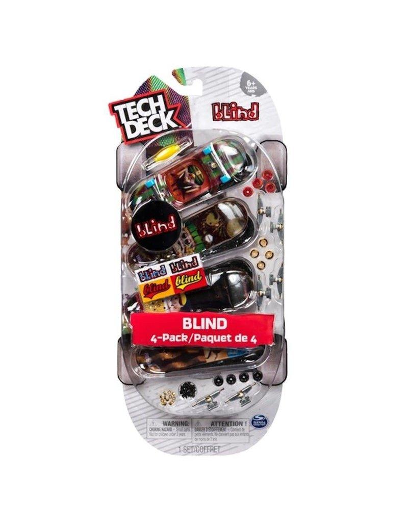 Toysmith Tech Deck Boards 4 Pack Flip