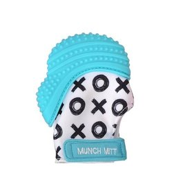 Malarkey Kids Munch Mitt Aqua XO