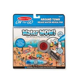 Melissa and Doug Melissa and Doug Water Wow Around Town Deluxe Water Reveal Pad