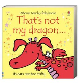 Educational Development Corporation Usborne Thats Not My Dragon Book